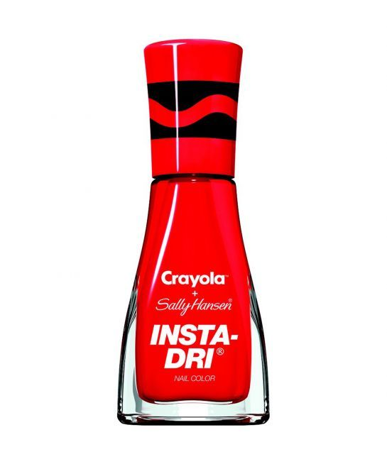 Crayon-Inspired Nail Polish