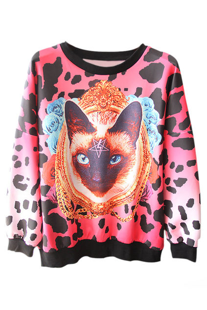 Kaleidoscopic Kitty Clothing