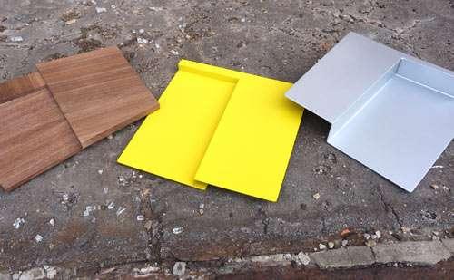 Folded Panel Platters