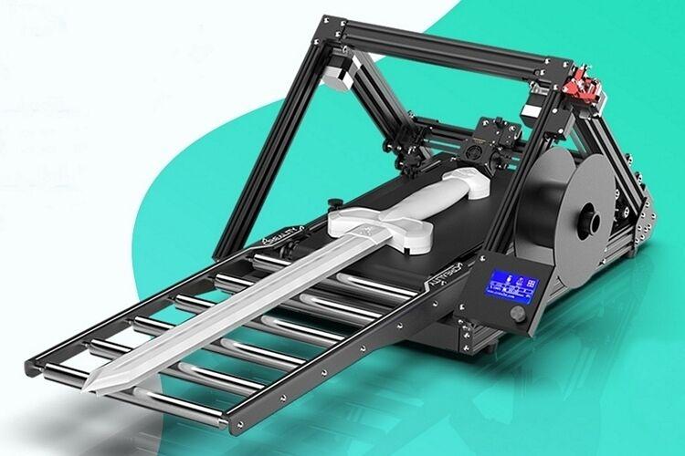 Conveyor Belt 3D Printers : Creality CR-30 3DPrintMill
