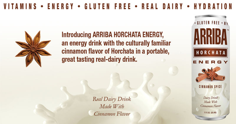 Horchata-Inspired Energy Drinks