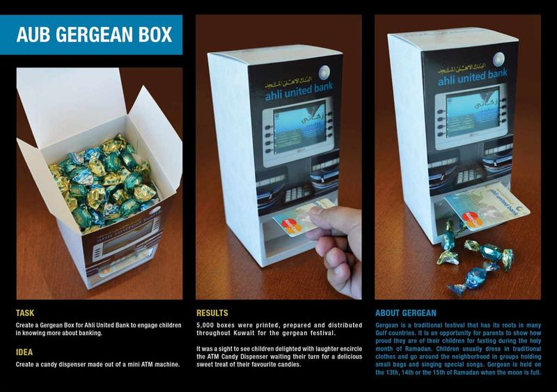 Candy Banking Boxes