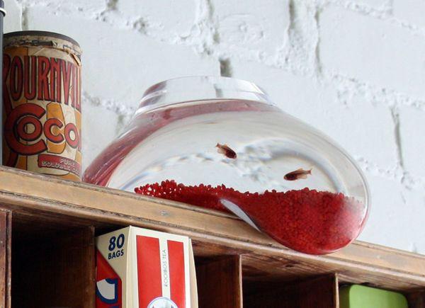 Drooping Liquified Fish Bowls