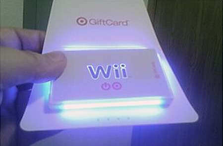 Glowing Gift Cards
