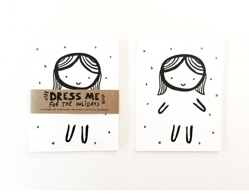 Doodling Dress-Up Notepads