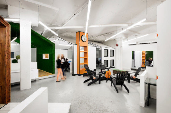 controlled chaos office spaces creative office design