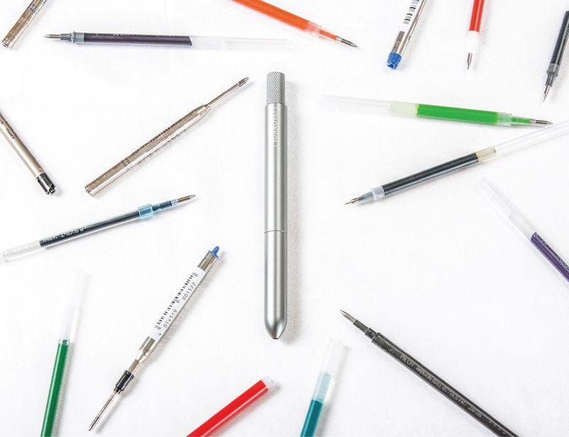 Multi-Refill Design Pens