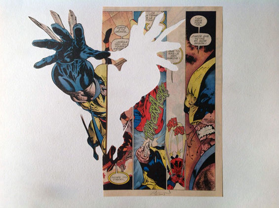 Dissected Pop Comic Artwork