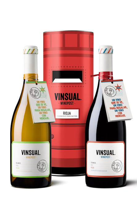 Postal Wine Packaging