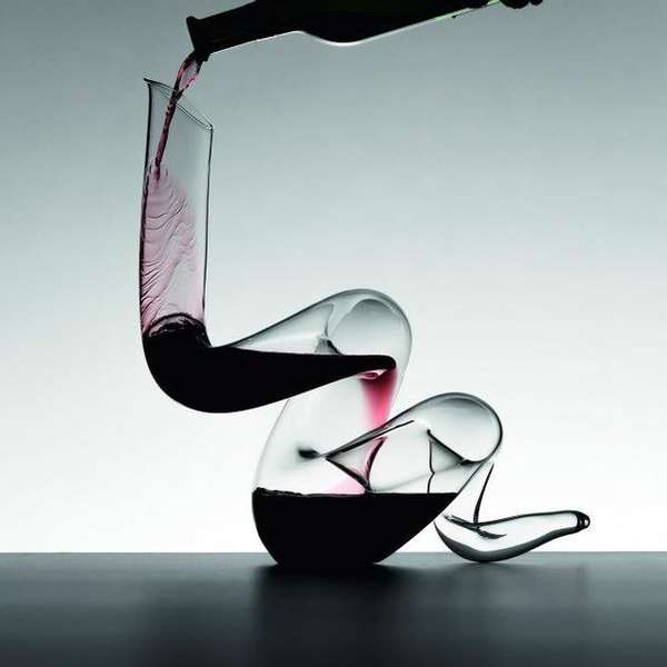 Slithering Wine Decanters