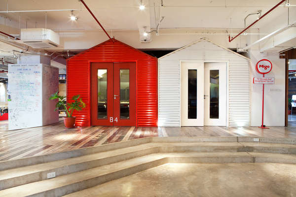 Unconventional Open Office Spaces