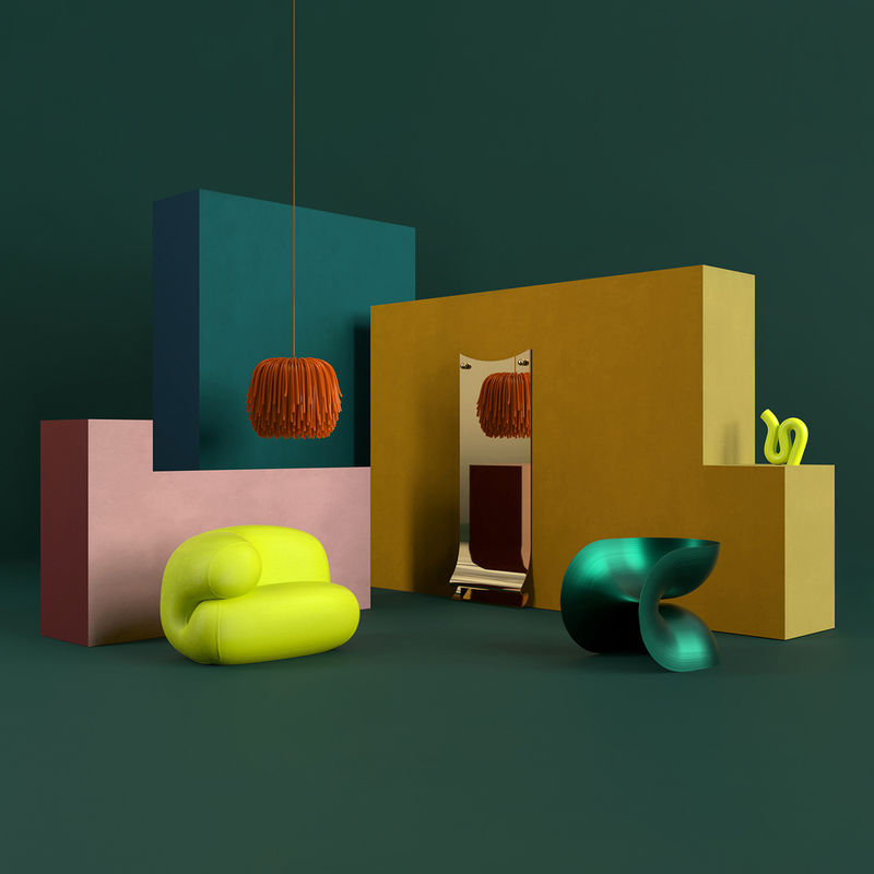 Isolation-Inspired Furniture