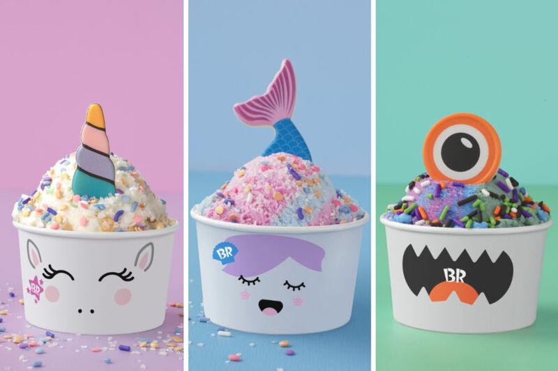 Customizable Fantasy Ice Creams