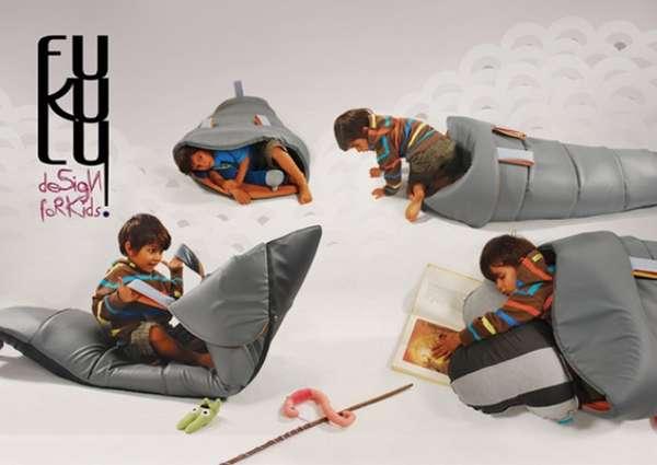 Fish-Shaped Kid's Furniture