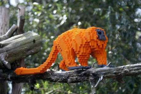 Endangered LEGO Exhibits