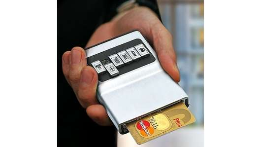 Sliding Card Organizers Credit Card Holder