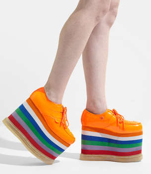 Soaring Rainbow Footwear