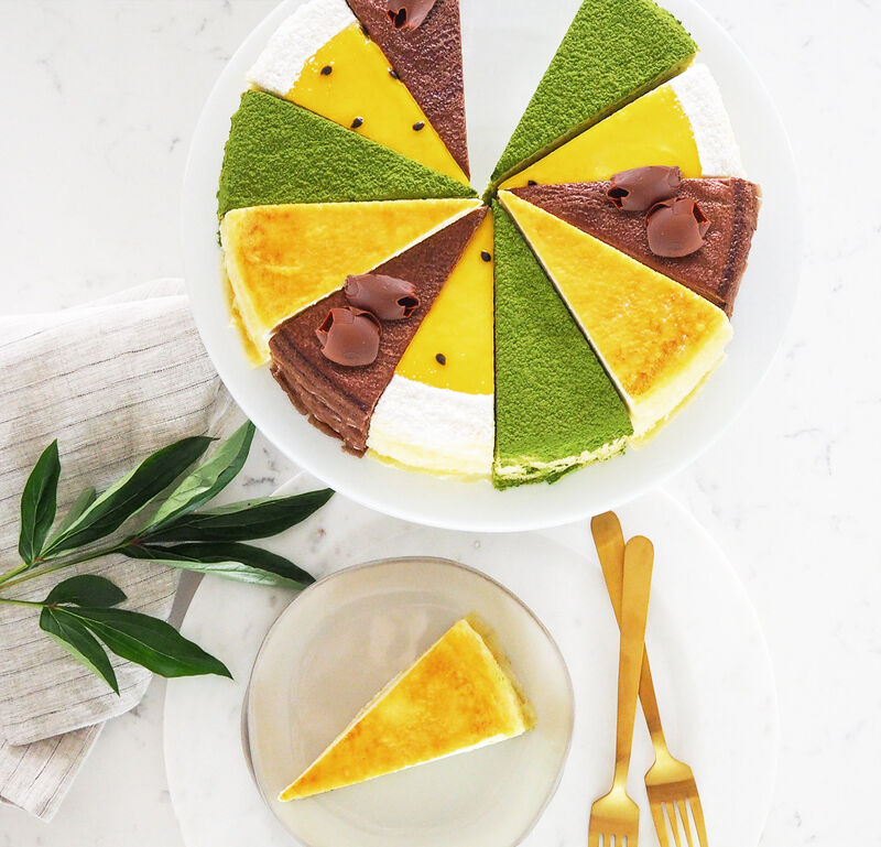 Four-in-One Crêpe Cakes