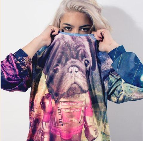 Sci-Fi Canine Sweaters