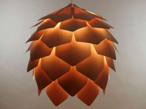 Lotus lighting fixtures crimean pinecone lamp lotus lighting fixtures aloadofball Images