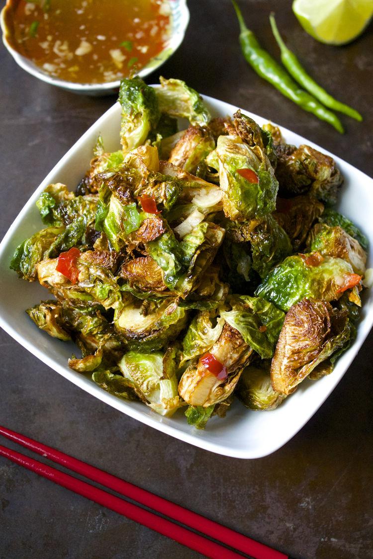 Crispy Thai Sprouts