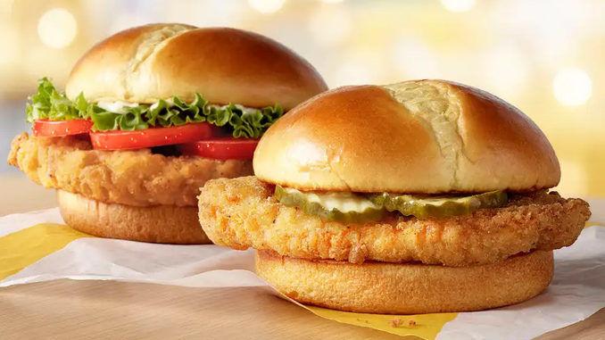 Crispy Fried Chicken Sandwiches