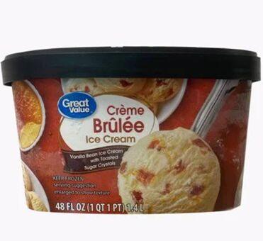 Affordable Crème Brûlée Ice Creams