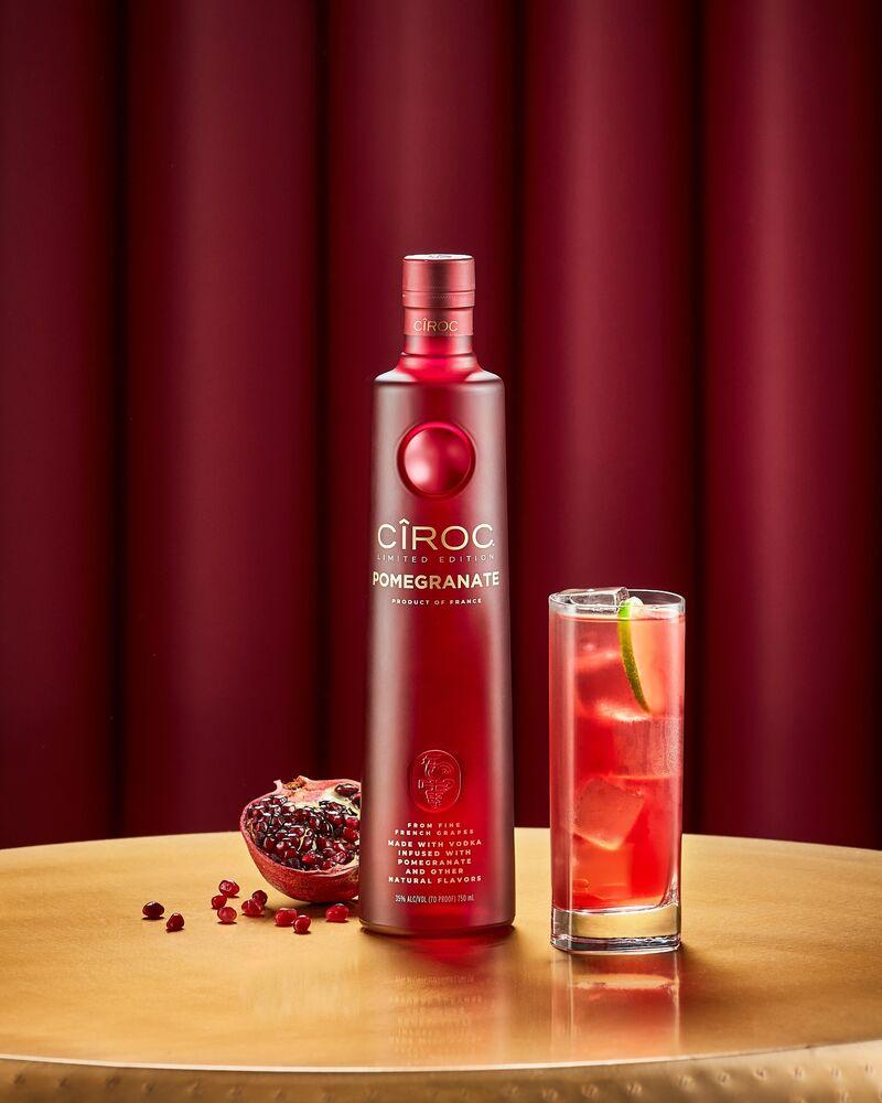 Celeb-Backed Pomegranate Vodkas