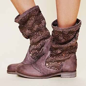 Doily-Mimicking Footwear