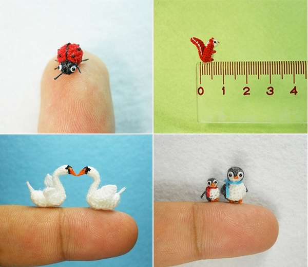 Pocket-Sized Crocheted Creatures