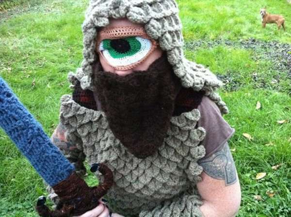 Knitted Monster Costumes