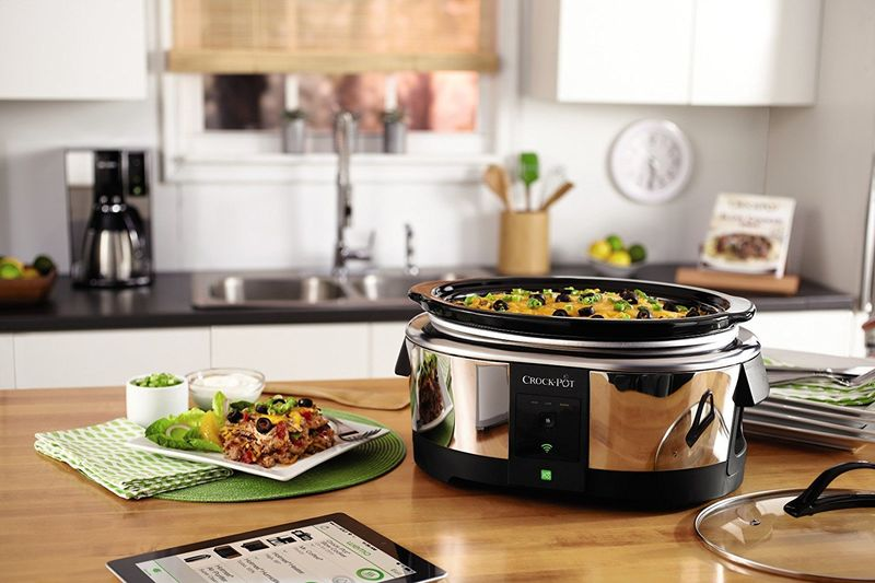 Internet-Enabled Slow Cookers