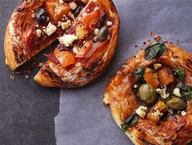 Artisan-Inspired Croissant Pizzas