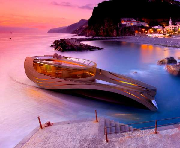 Futuristic Sustainable Seacrafts