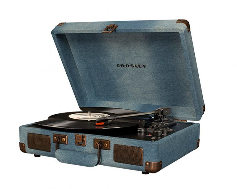Updated Denim Record Players