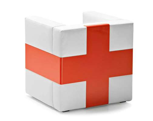 Cubed cross chairs pia wallen designs swiss inspired for Design furniture replica switzerland