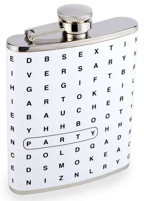 Crossword Game Flasks