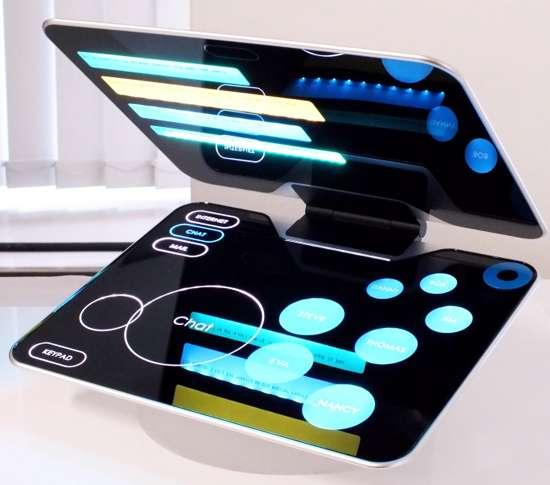 Sci-Fi Touch-Screen Laptops