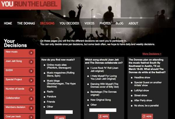 Crowdsourced Record Labels