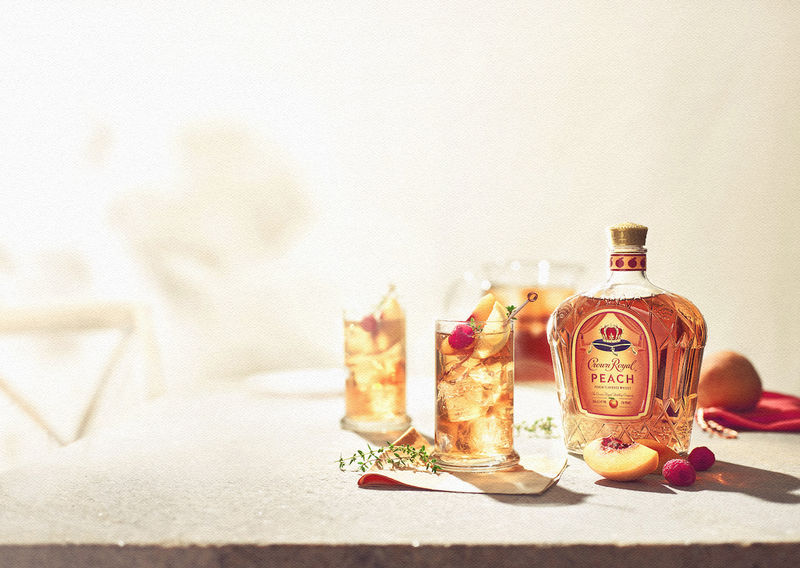 juicy peach whiskies   crown royal peach