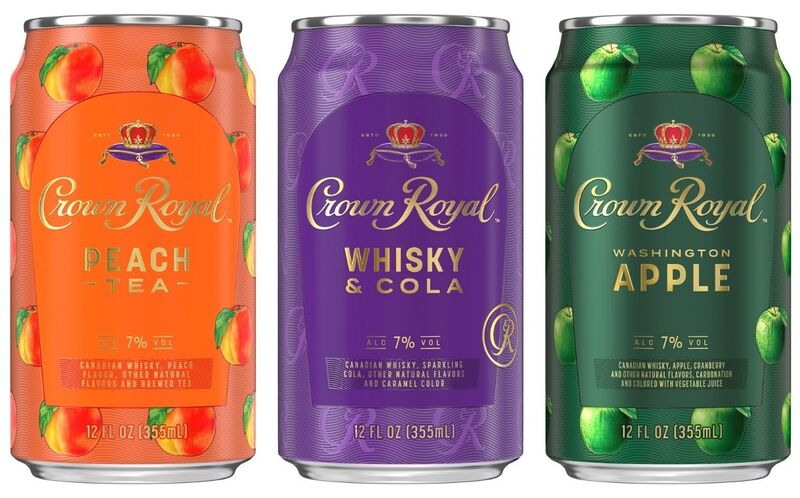 Canned Whiskey Cocktails