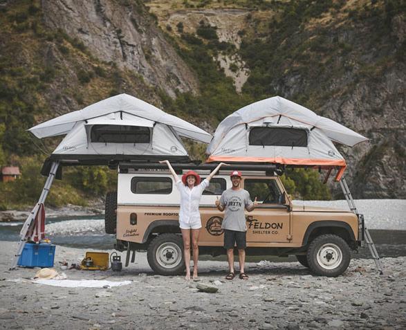4x4 Rooftop Camper Tents