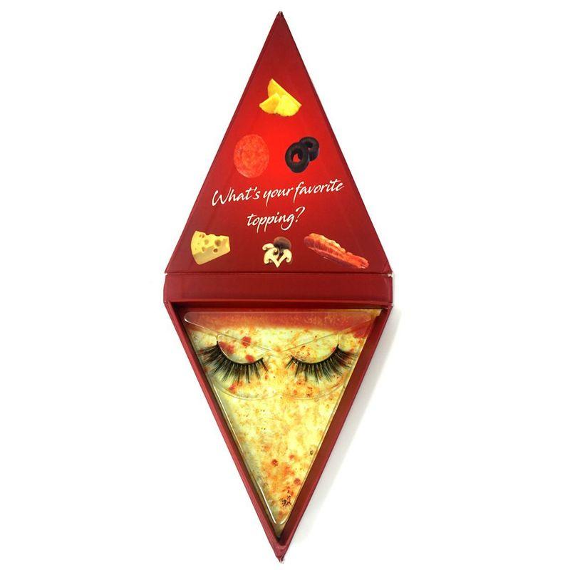 Pizza-Themed False Eyelashes