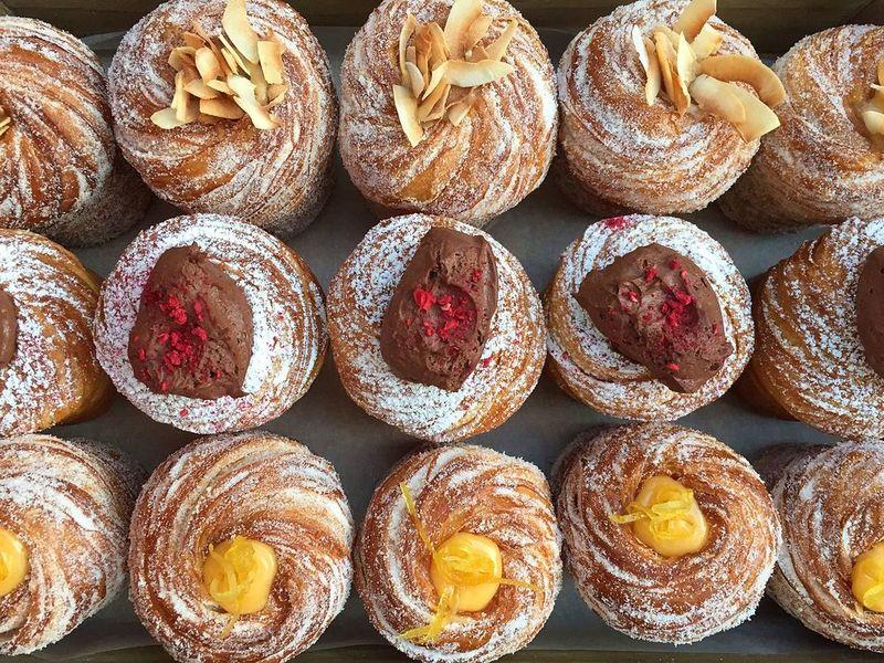 Hybrid Croissant Desserts