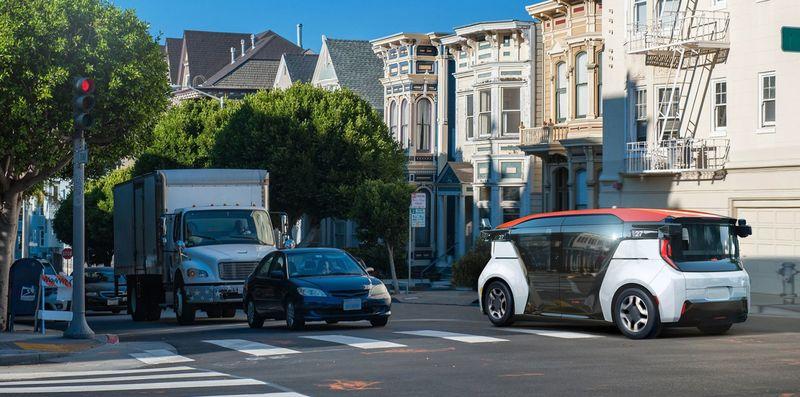Autonomous Rideshare Taxis