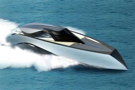 Wave Cutting Cruisers Luxury Speed Boat By Andrew Bedov Slices