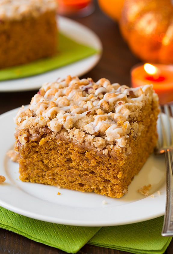 Pumpkin Crumb Cakes
