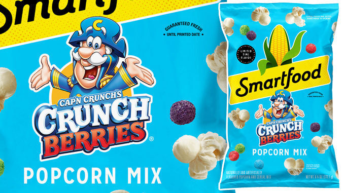 Cereal-Infused Popcorn Snacks