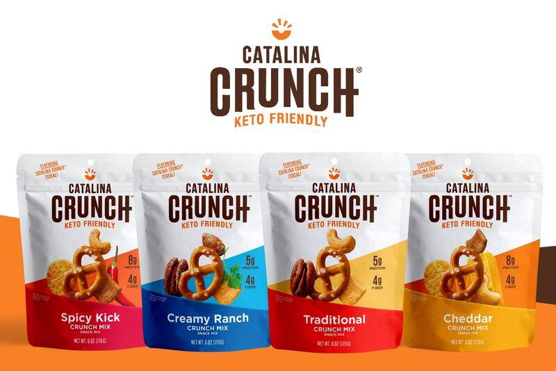 Crunchy Keto Snack Mixes