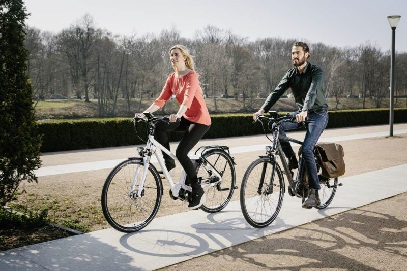 Cryptocurrency-Generating E-Bikes